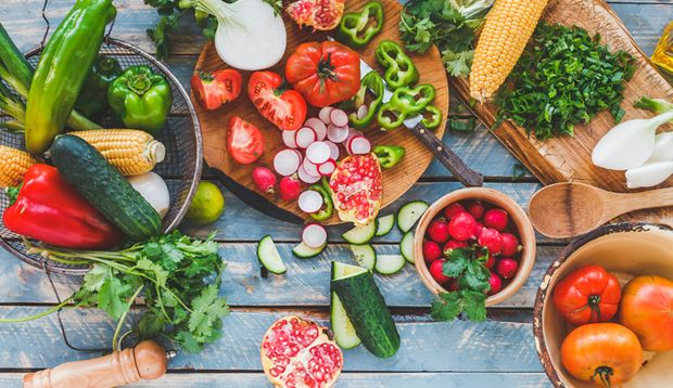 Die vegetarische Küche hat mehr zu bieten als nur Rohkost