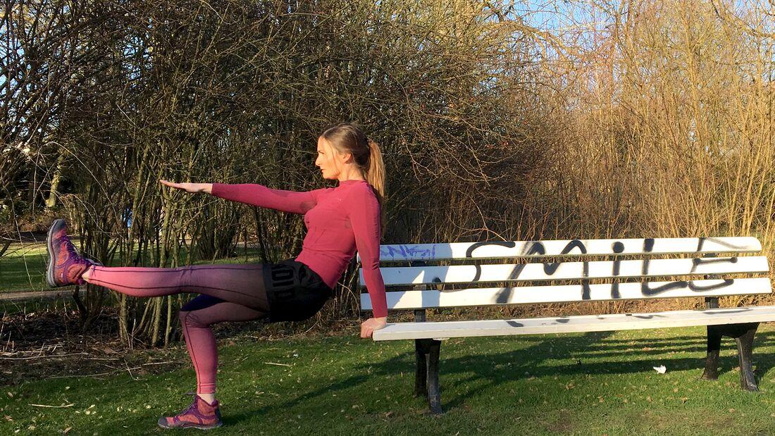 Draußen trainieren