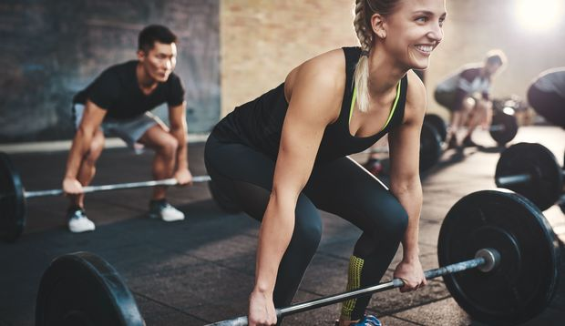 Durch das Krafttraining wachsen die Muskeln