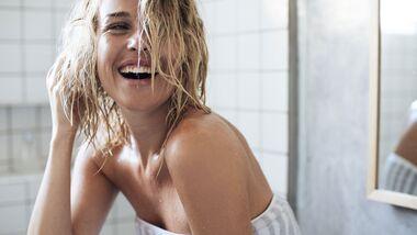 Duschen nach dem Sport entspannt