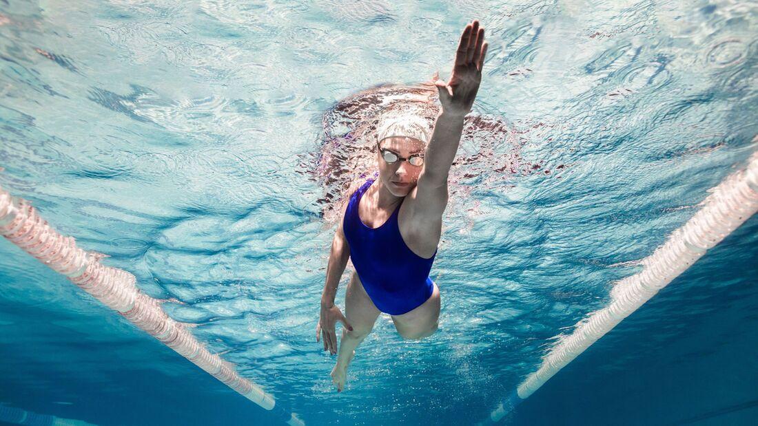 Effektiv abnehmen beim Schwimmen