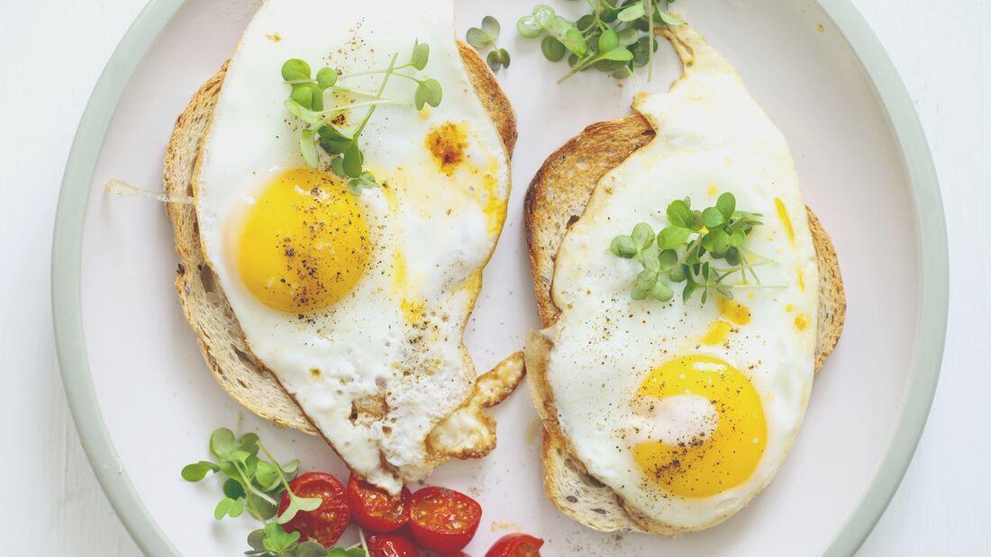 Eier-Gerichte sind proteinreich und lecker