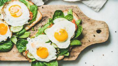Eier sind gesund und vielseitig in der Küche einsetzbar