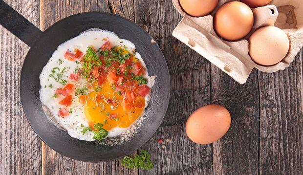 Eiergerichte sind schnell gemacht, lecker und gesund