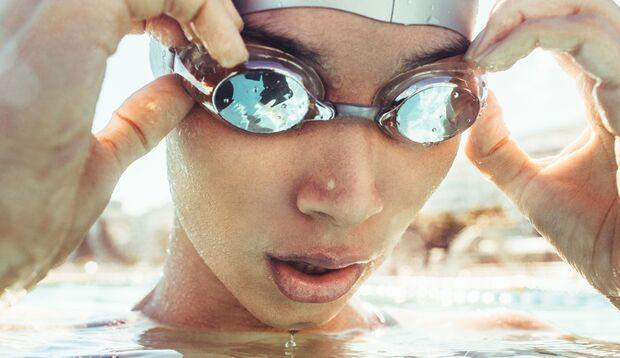 Ein guter Tipp für eine erfolgreiche Schwimmsession ist der Dreierythmus.