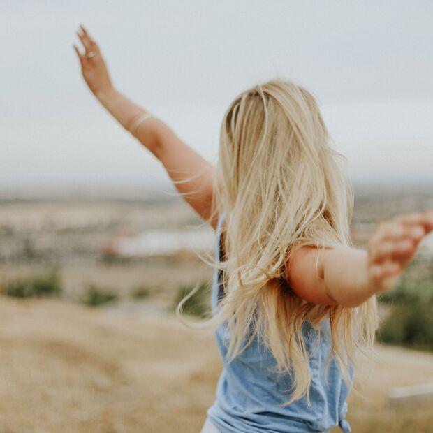 Ein starkes Herz und ruhige, kontrollierte Gedanken lassen dich frei fühlen