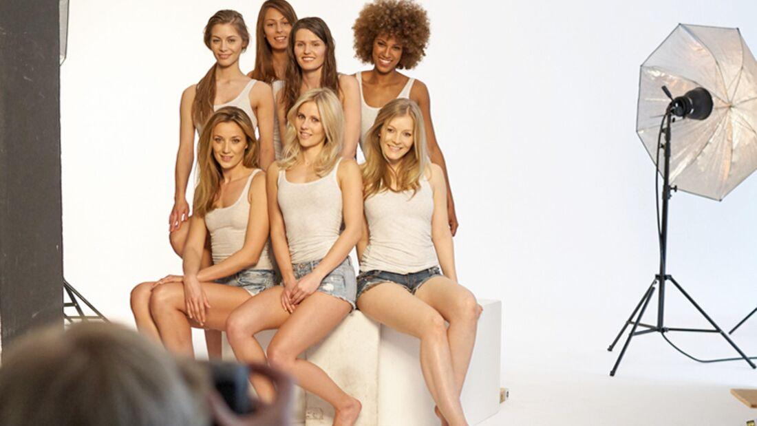 Eine unserer 7 Finalistinnen lächelt vom nächsten Women's Health Cover