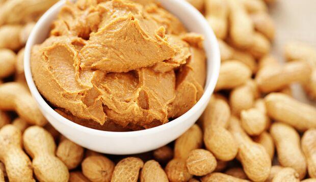 Erdnüsse Erdnussbutter Proteine