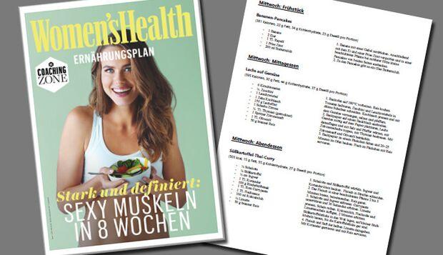 Ernährungsplan Muskelaufbau in 8 Wochen