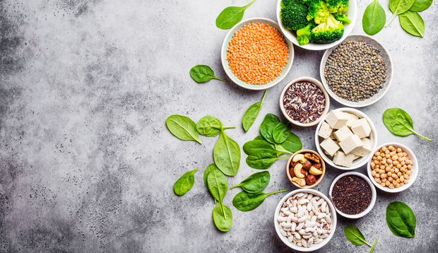 Es gibt viele pflanzliche Proteinlieferanten