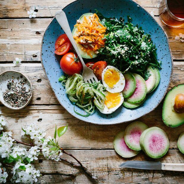 Essen auf dem Tisch