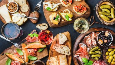 Essen im Smorging-Style