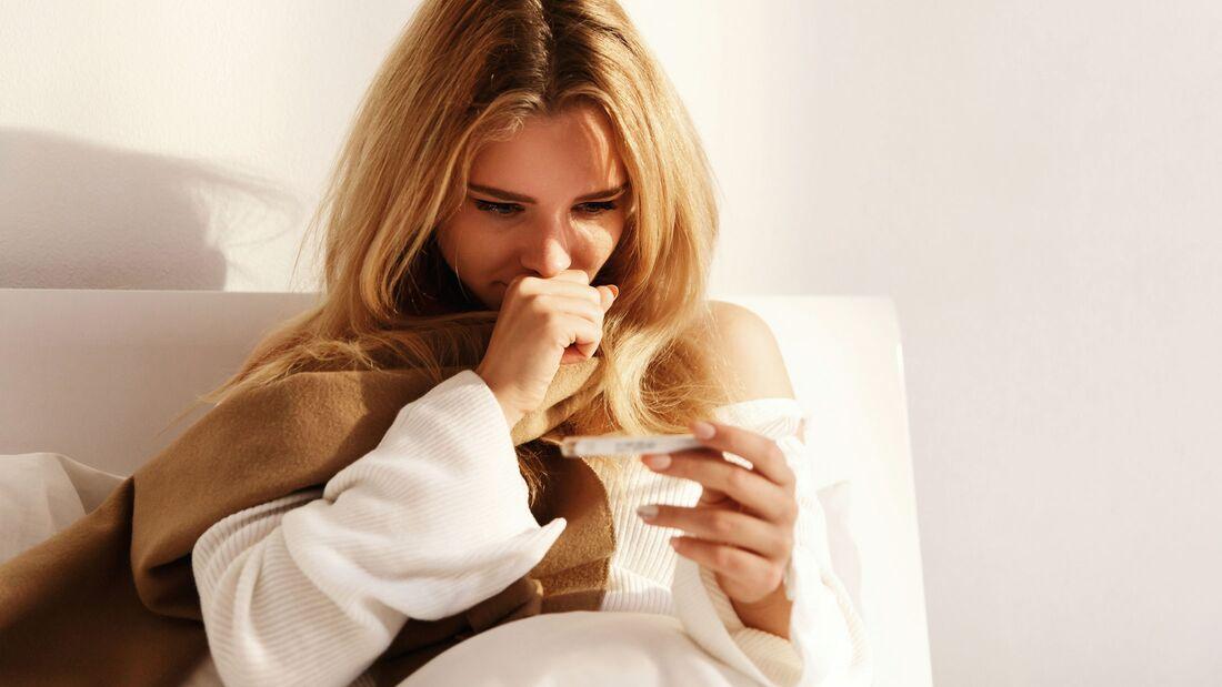 Essig-Wickel helfen bei Fieber