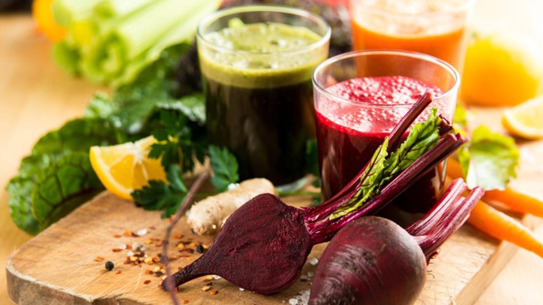 Fatburner Rote-Beete und Spinat