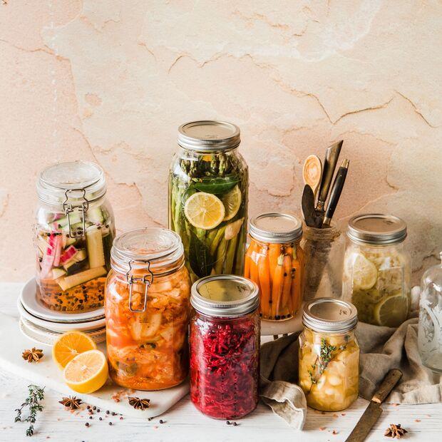 Fermentiertes Gemüse ist für den Darm besonders bekömmlich