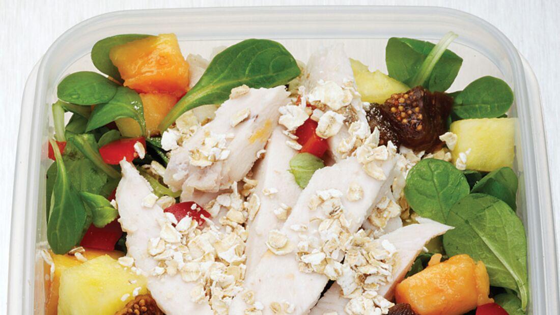 Fett-weg-Salat mit Huhn & Chili