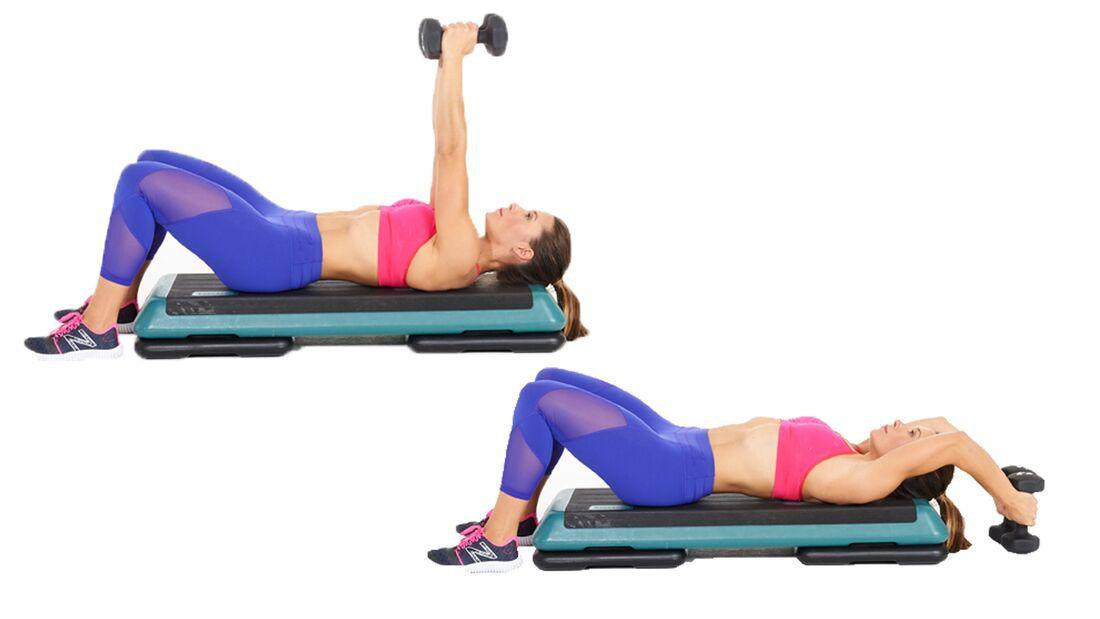 Fit in 15 Minuten: Oberkörper trainieren durch Pull-over