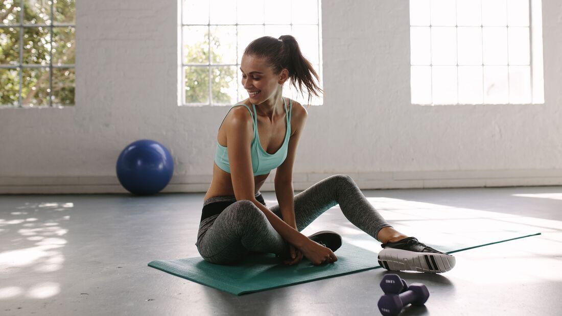 Übungen zum Abnehmen der Arme und zurück zu Hause