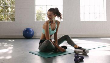 Übungen, um Fett von hinten zu verlieren