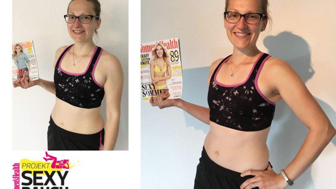Flacher Bauch in 8 Wochen
