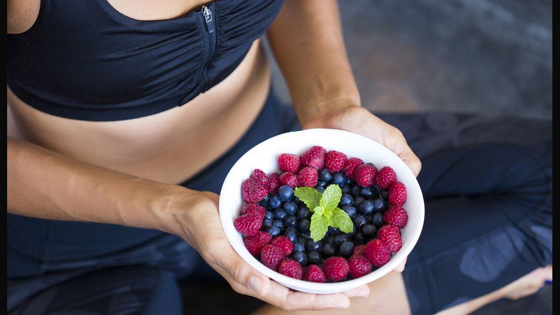 Frisches Obst ist bei Yogis Pflicht