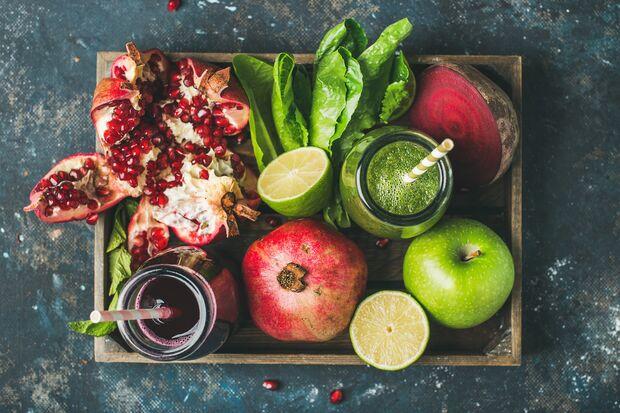 Frisches Obst und Gemüse ist in der Yoga-Küche Pflicht