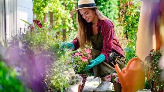 Gärtnern macht glücklich und gesund