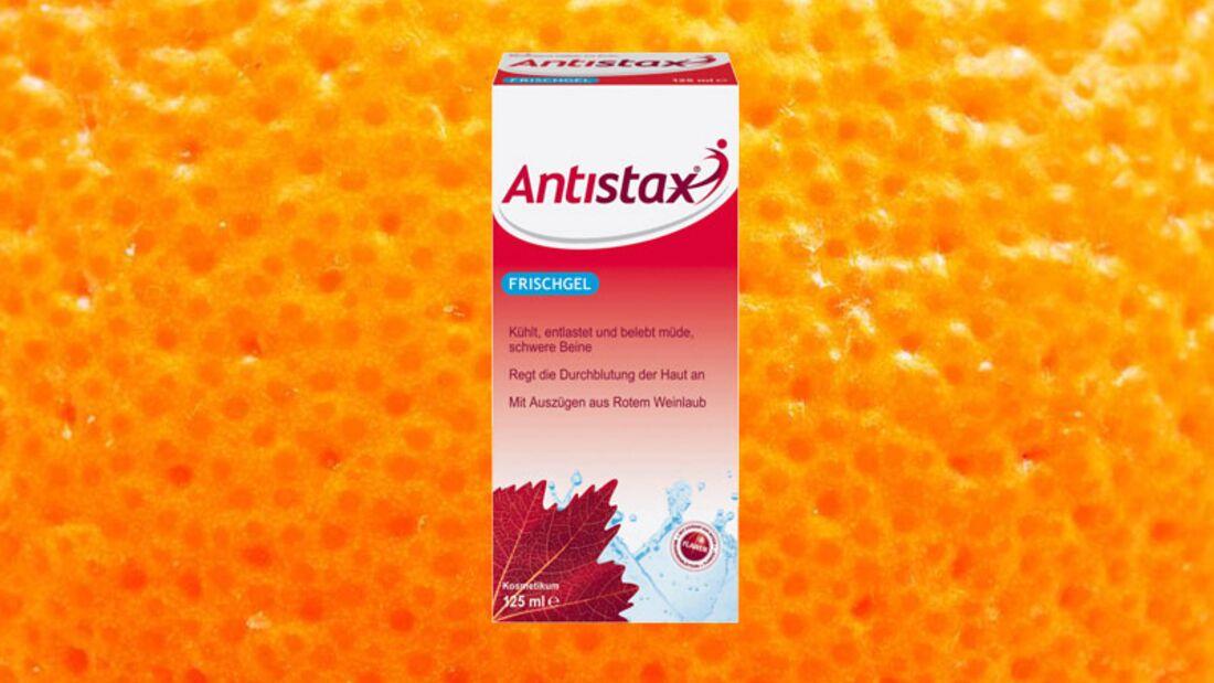 Gegen Cellulite: Durchblutungsfördernes Frischgel von Antistax