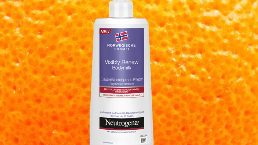 Gegen Orangenhaut helfen Anti-Cellulite Produkte