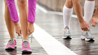 Gemeinsam joggen für besseren Sex