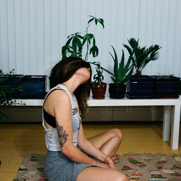 Genieße die Stille und nimm dir Zeit zum Meditieren