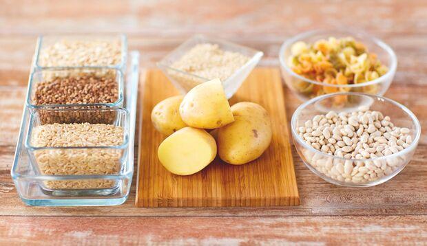 Gesunde Carbs aus Reis, Kartoffeln & Co.