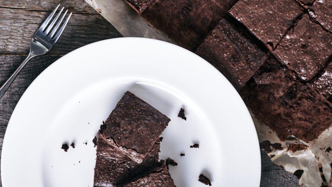 Gesunde Schoko-Bananen-Brownies