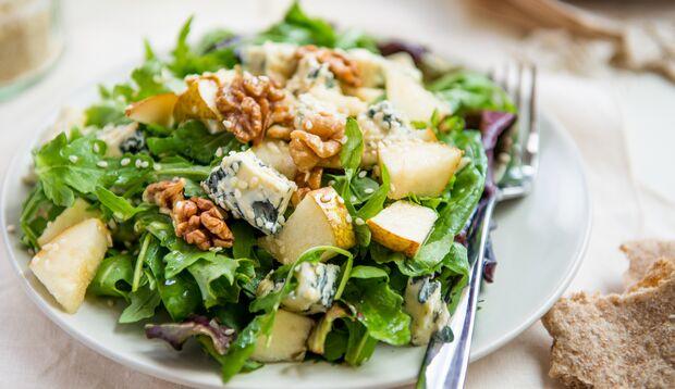 Gorgonzola im Salat – lecker!