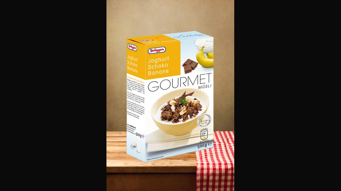 "Gourmet Müsli ""Joghurt Schoko Banane"" von Brüggen"