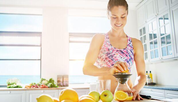 Grapefruitsaft ist ein perfekter Start vor dem Frühstück