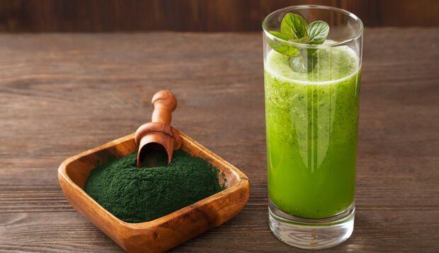 Greens-Drinks sind super gesund und schnell zuzubereiten