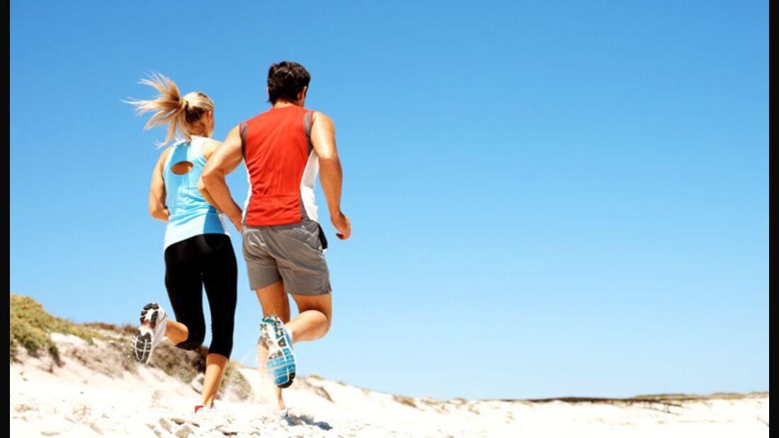 Größeres Herz- und Lungenvolumen schafft Männern einen Vorteil beim Laufen