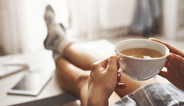 Grüner Tee ist gesund