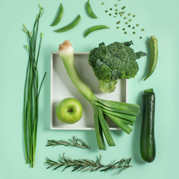 Grüner wird's nicht: Gemüse wehrt Stress erfolgreich ab