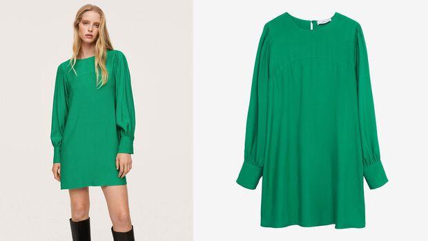 Grünes Kleid von Mango