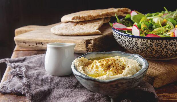 Hummus ist gesund und lecker