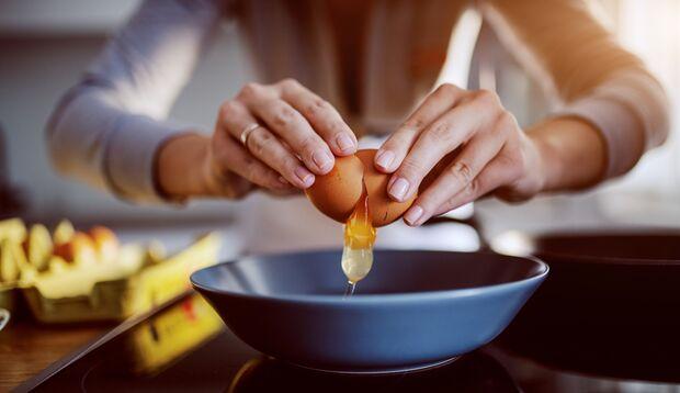 Im Eigelb ist viel Biotin enthalten