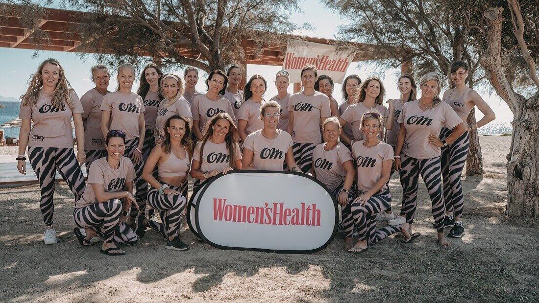 Im Women's Health Camp werden Sie von absoluten Profis betreut