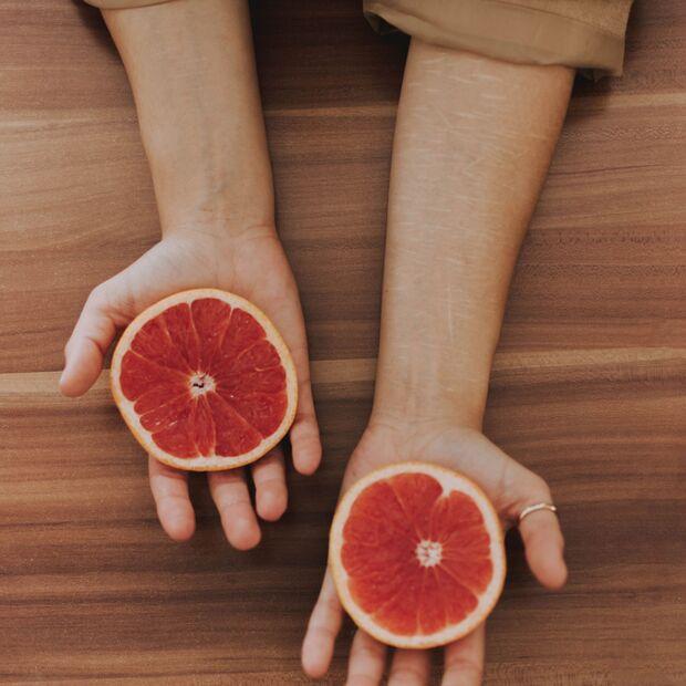 In Grapefruits stecken viele nützliche Bitterstoffe