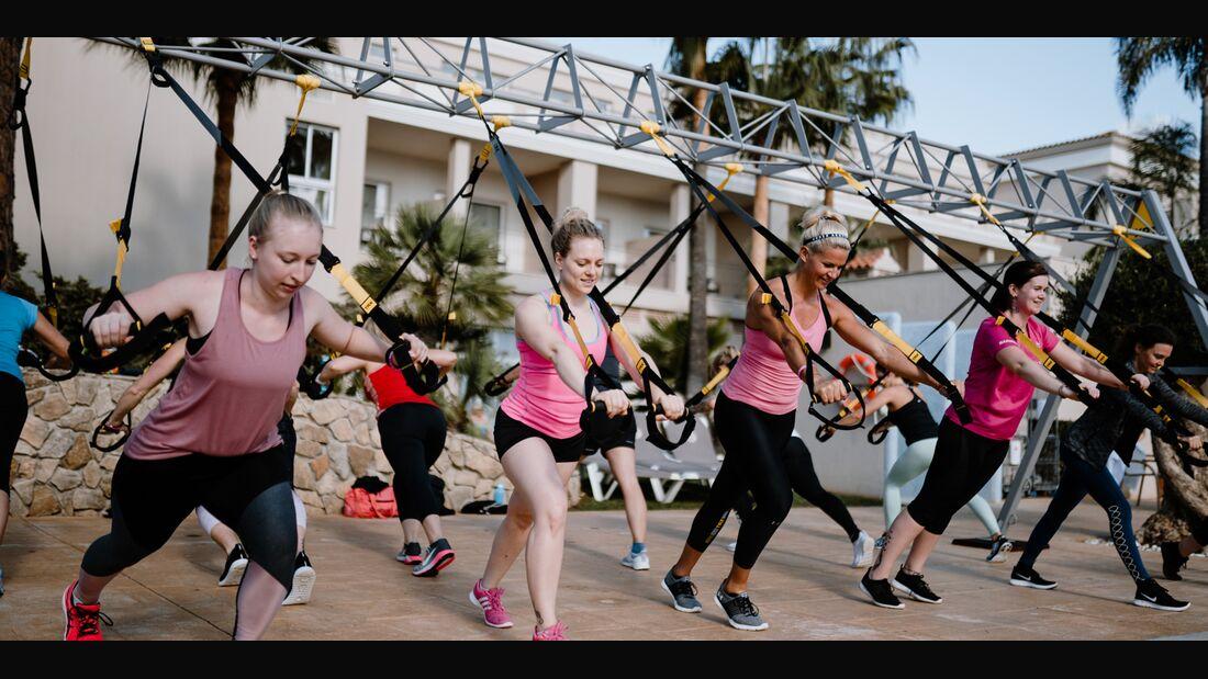 In der Gruppe Spaß haben und gemeinsam individuelle Ziele erreichen – dafür steht das Women's Health Camp