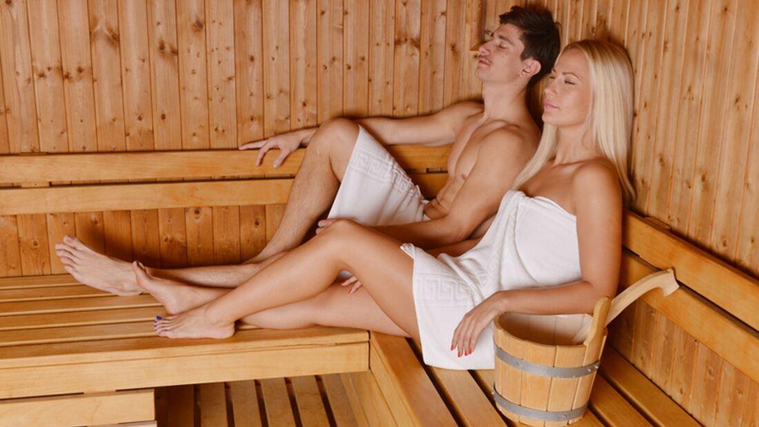 In die Sauna mit dem Ex? No Go!