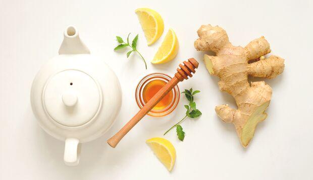 Ingwer-Tee als Abnehmhelfer