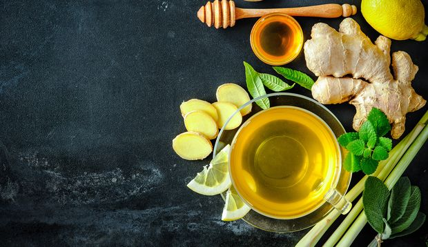 Ingwer Zitronengras Tee
