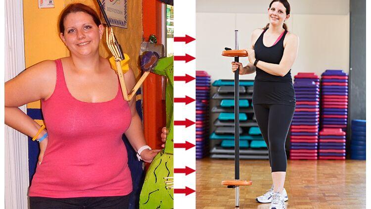 Vorher abnehmen mit 50 nachher jahren 50 Kilo